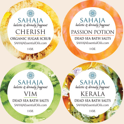 Welcome to SAHAJA - Holistic & Divinely Fragrant Essential Oils