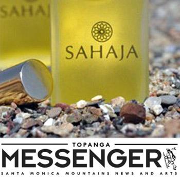 Topanga Messenger SAHAJA article